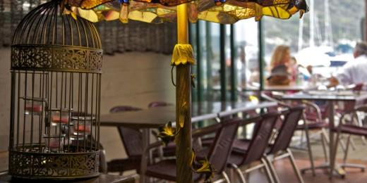 Restaurant la Trinquette - Port Cros - Déco intérieur