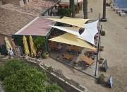 Restaurant la Trinquette - Port Cros - Déco extérieur