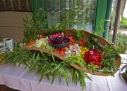 Buffet - Legume - Evenement restaurant Port Cros la Trinquette