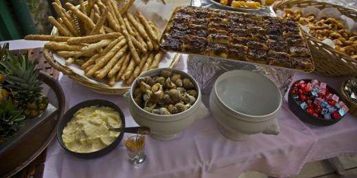 Buffet - Plats - Evenement restaurant Port Cros la Trinquette