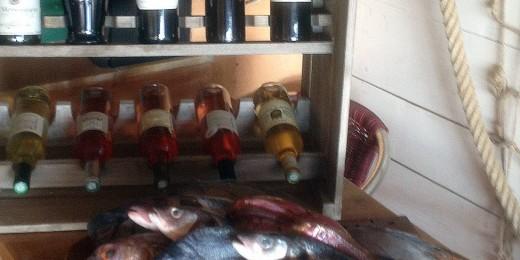 Pêche du jour, poissons frais - restaurant port cros : La Trinquette